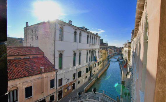 Vista Canale Venezia Grimani Apapartamento