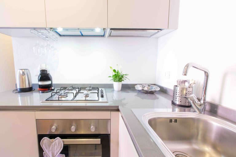 Ca Cammello Venice apartment with terrace canal view kitchen