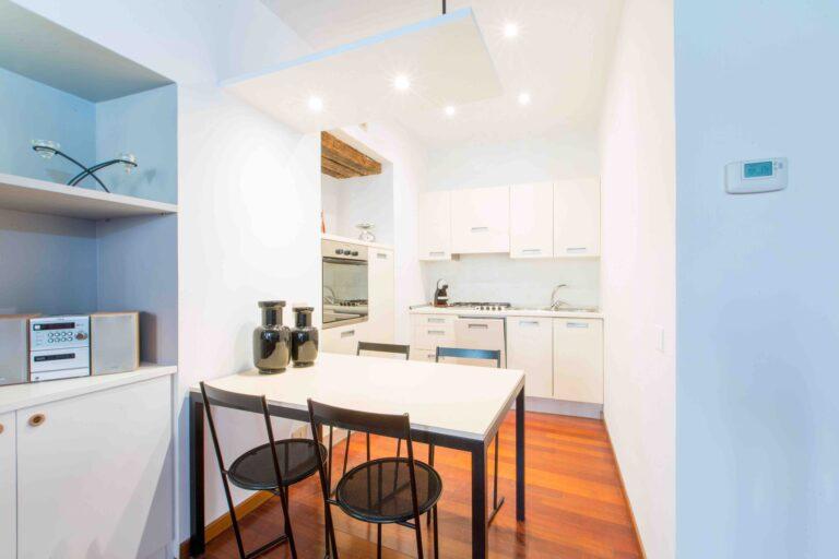 The Arch Venice Apartment Kitchen