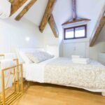 Venice apartment with terrace large bedroom
