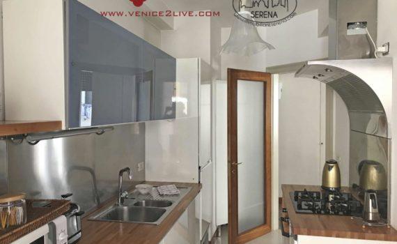 Appartamento cannaregio cucina
