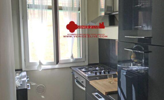 Appartamento in affitto Venezia cucina